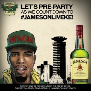 jameson preparty