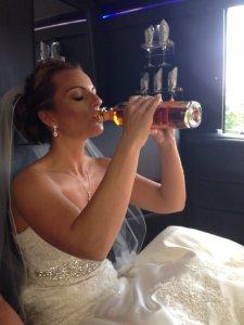 saz bottle bride