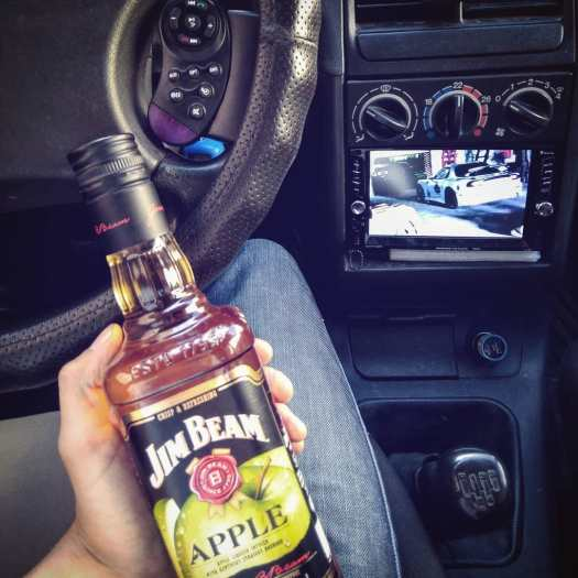 jim beam apple mazda