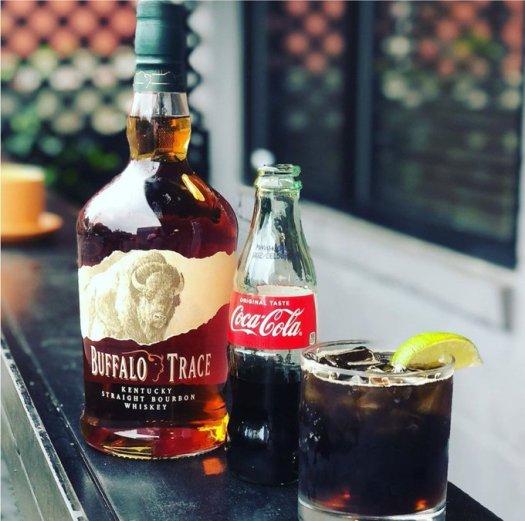 buffalo trace coca cola